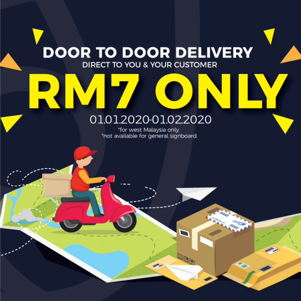 Delivery Fees RM7 ONLY!