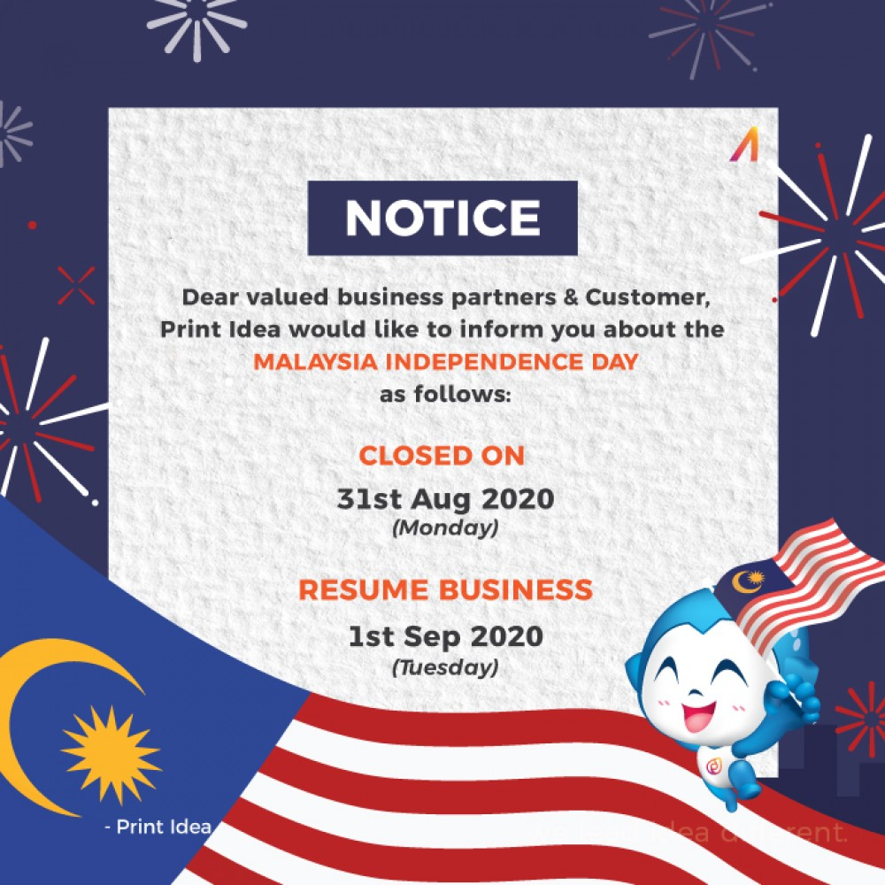 Malaysia Independence Day  Announcement