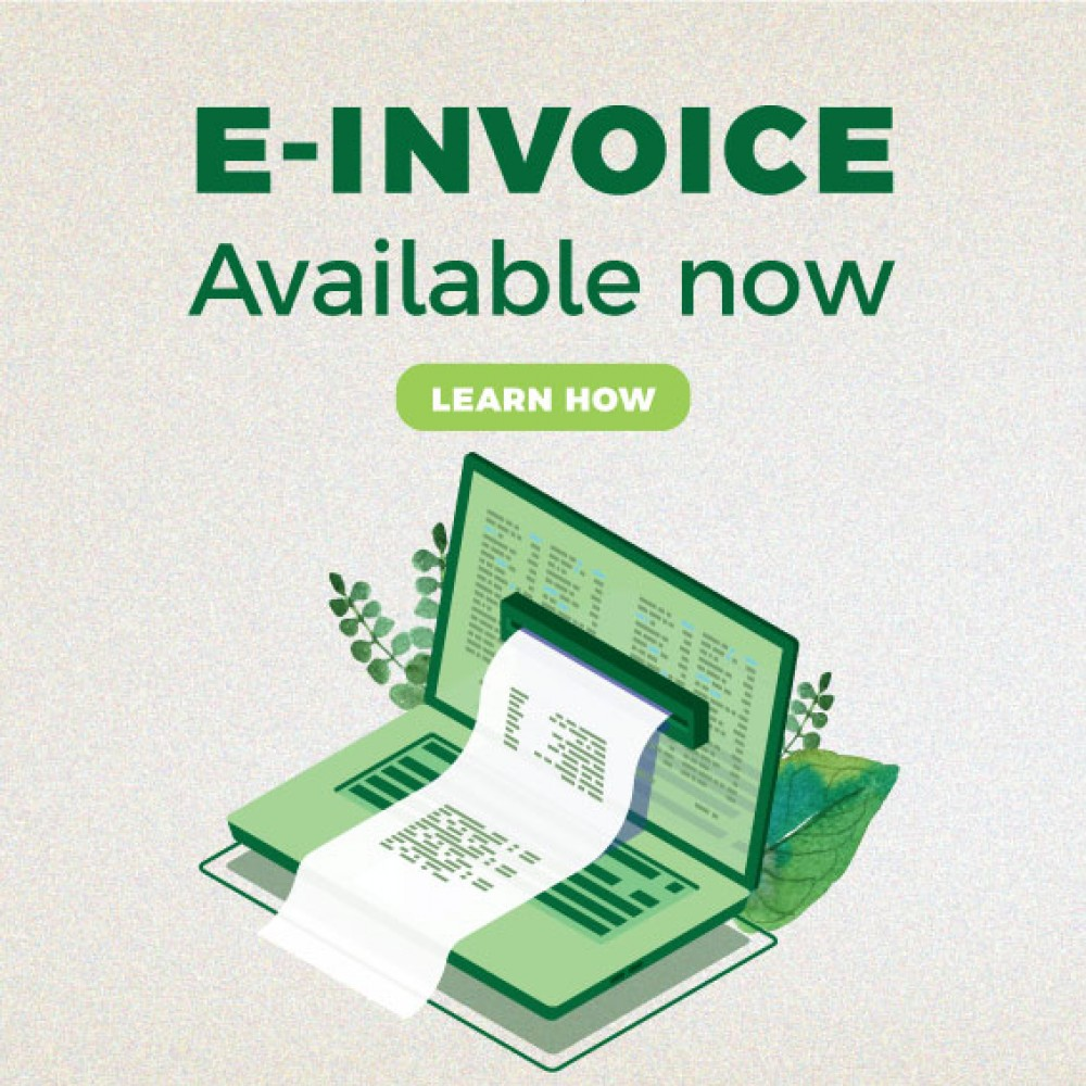 E-Invoice Available now