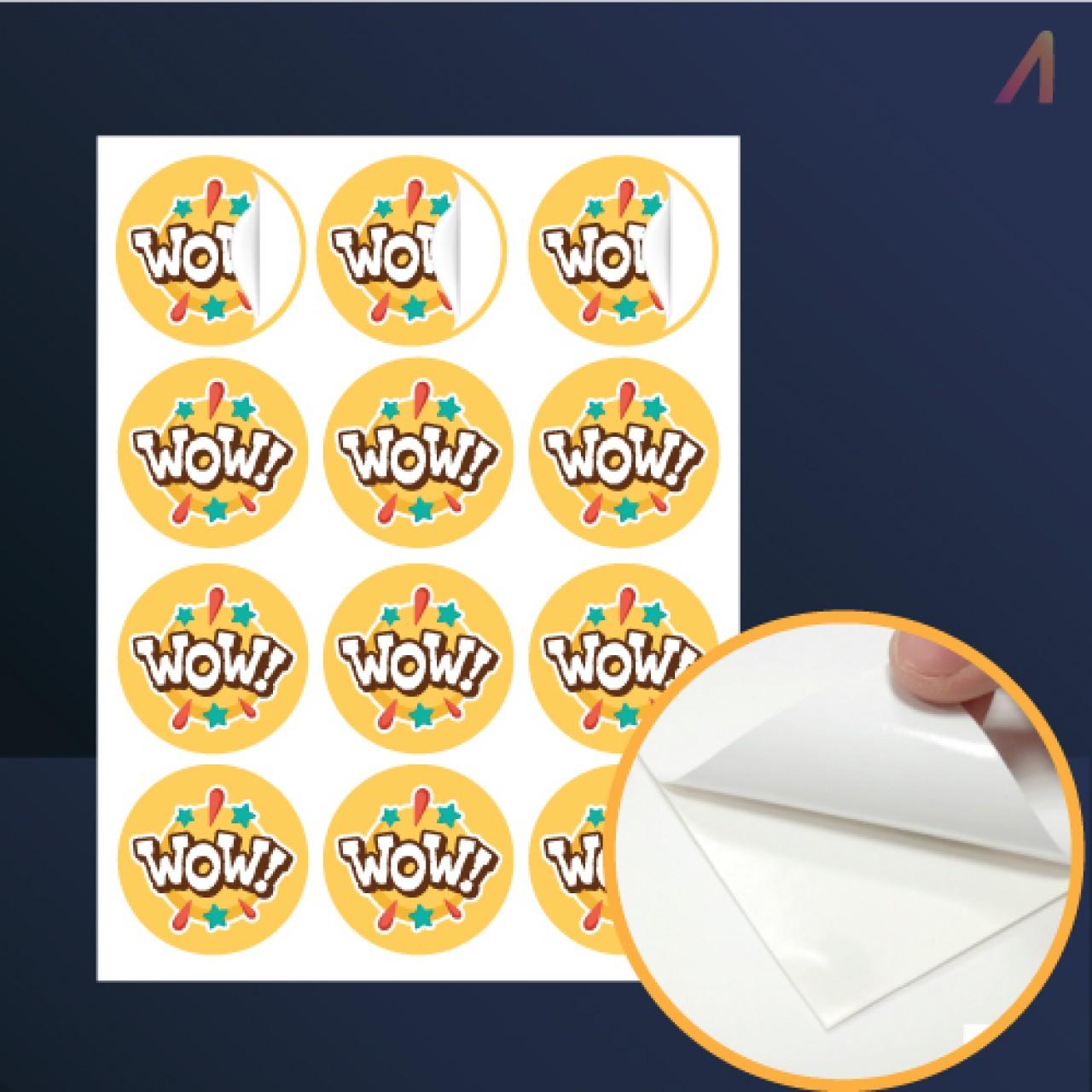 Kisscut PVC Sticker