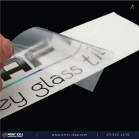 Diecut Transparent Sticker