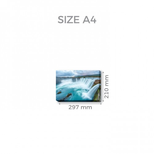 A4 (21.0cm x 29.7cm)